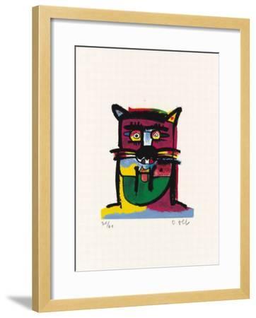 Tiger-Otmar Alt-Framed Limited Edition