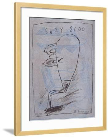 Suzy 2000-Jacques Flechemuller-Framed Limited Edition