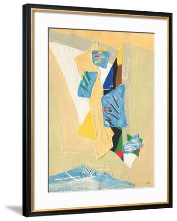 Ouverture Majeur-Bernard Alligand-Framed Limited Edition