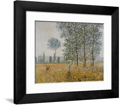 Summer-Claude Monet-Framed Art Print