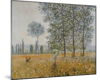 Summer-Claude Monet-Mounted Art Print