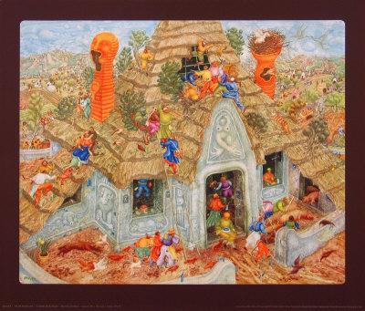 The Last Thatched Roof-Erich Brauer-Collectable Print
