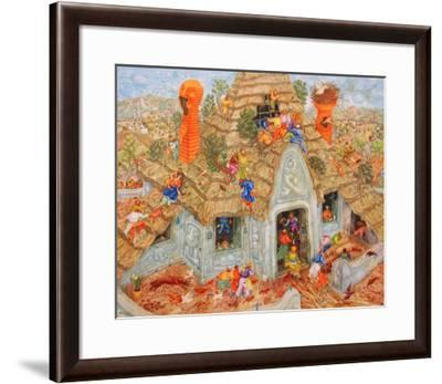 The Last Thatched Roof-Erich Brauer-Framed Collectable Print