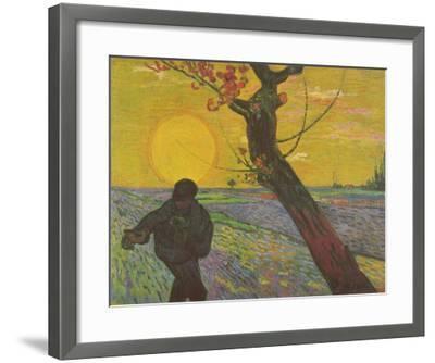 The Sower, c.1888-Vincent van Gogh-Framed Art Print