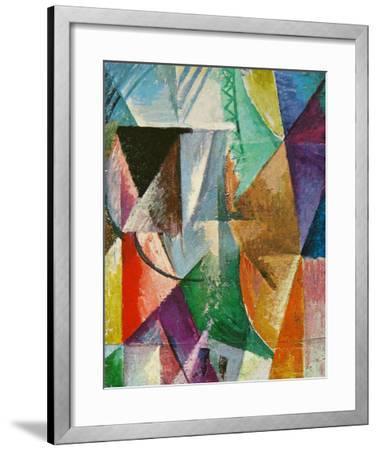 Window, 1912-Robert Delaunay-Framed Art Print