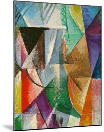 Window, 1912-Robert Delaunay-Mounted Art Print