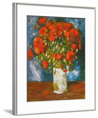 Poppies, c.1886-Vincent van Gogh-Framed Art Print
