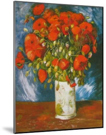 Poppies, c.1886-Vincent van Gogh-Mounted Art Print