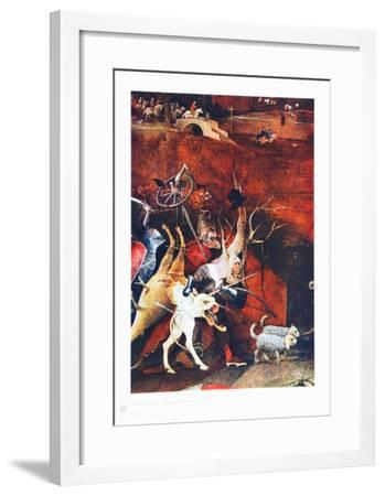 Group of Vendeful Spirits-Hieronymus Bosch-Framed Collectable Print