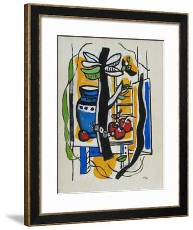 Still Life with Fruits-Fernand Leger-Framed Collectable Print