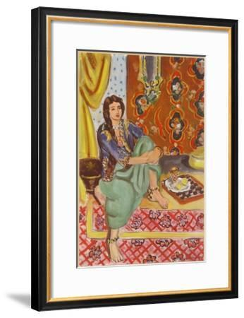 The Odalisque-Henri Matisse-Framed Collectable Print