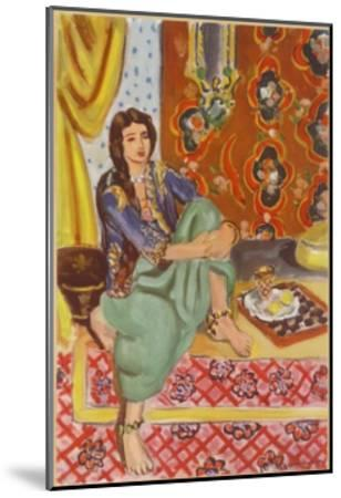 The Odalisque-Henri Matisse-Mounted Collectable Print