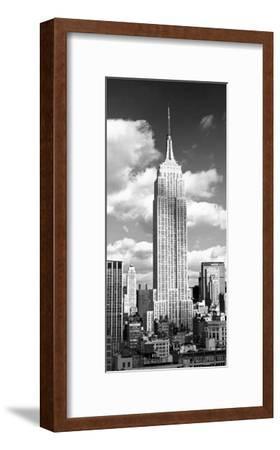 Empire State Building-Henri Silberman-Framed Art Print
