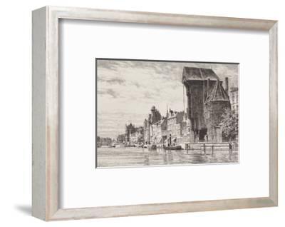 Danzig - Lange Bruecke-Bruck-Framed Collectable Print