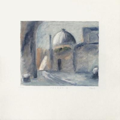 Casbah II-Lou G^ (Lupita Gorodine)-Framed Limited Edition