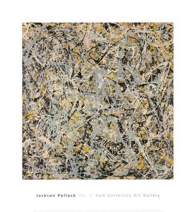 No. 4, 1949-Jackson Pollock-Art Print