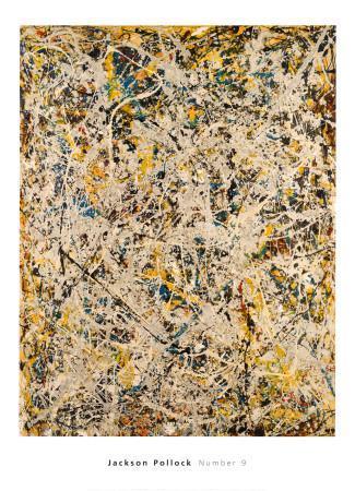 No. 9, 1949-Jackson Pollock-Art Print