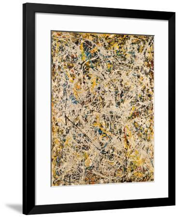 No. 9, 1949-Jackson Pollock-Framed Art Print
