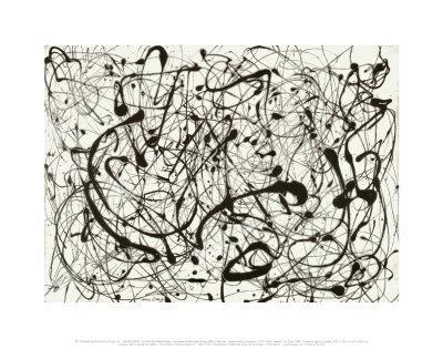 No. 14 (Gray)-Jackson Pollock-Art Print