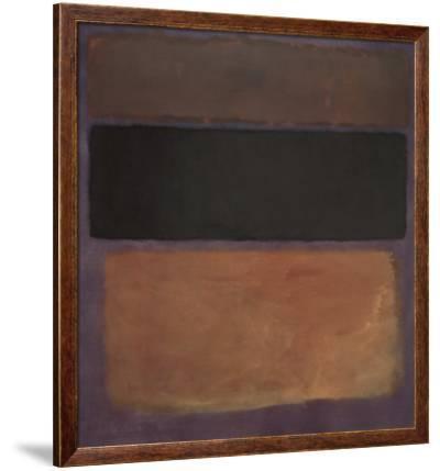 No. 10, 1963-Mark Rothko-Framed Art Print