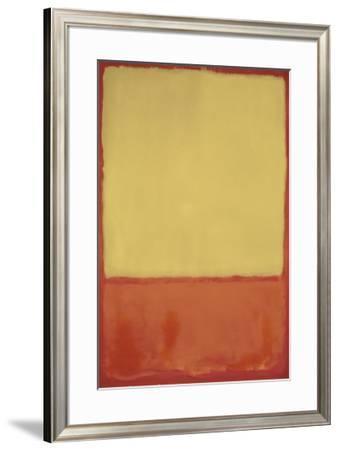 The Ochre, 1954-Mark Rothko-Framed Art Print