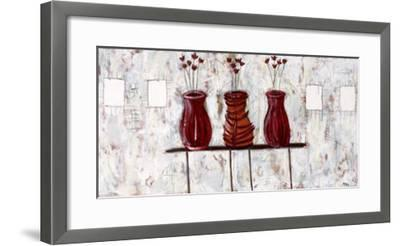 Jamais Deux Sans Trois-Valérie Allard-Framed Art Print