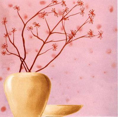 Set in Pink II-Lenoir-Framed Art Print