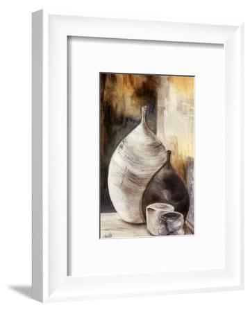 Vases Gris-Clauva-Framed Art Print