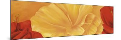 Orange Flower-Erik De Andr?-Mounted Art Print