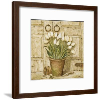 Potted Tulips I-Eric Barjot-Framed Art Print