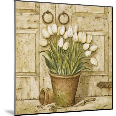 Potted Tulips I-Eric Barjot-Mounted Art Print