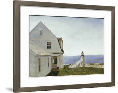 Marshall Point-Douglas Brega-Framed Art Print