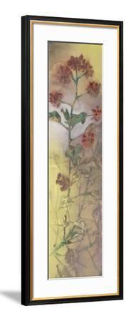 Rising Garden I-Kannon-Framed Art Print