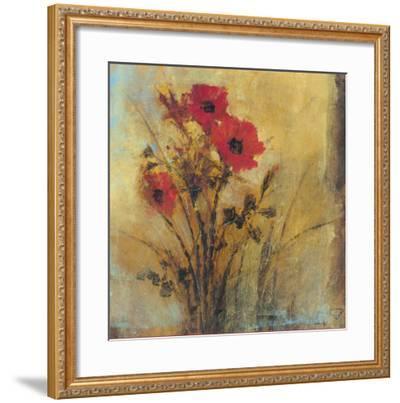Floral Spray II-P^ Patrick-Framed Art Print
