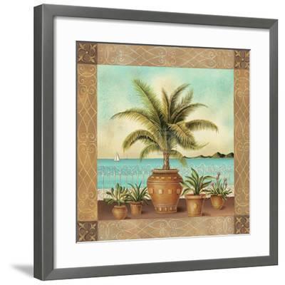 Potted Palm II-Don Tyler-Framed Art Print