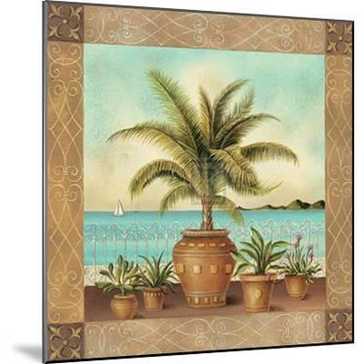 Potted Palm II-Don Tyler-Mounted Art Print