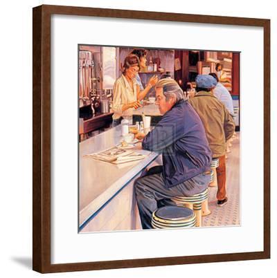 Silvertop-Patrick Bailey-Framed Art Print