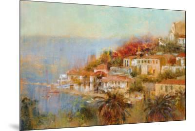 Picturesque Cove-Michael Longo-Mounted Art Print