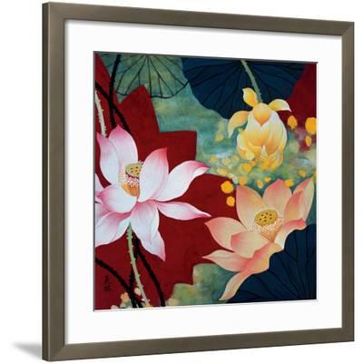 Lotus Dream II-Hong Mi Lim-Framed Art Print