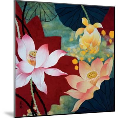 Lotus Dream II-Hong Mi Lim-Mounted Art Print