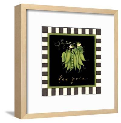 Les Pois-Beth Logan-Framed Art Print