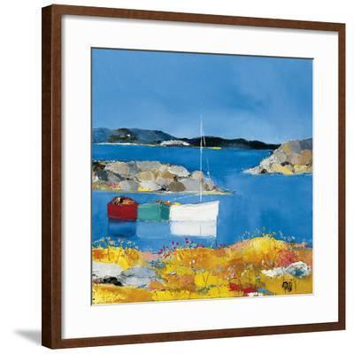 Aux Lavezzi-Anne-marie Grossi-Framed Art Print