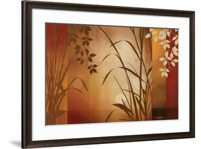 Flaxen Silhouette-Edward Aparicio-Framed Art Print
