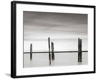 Cluster of Posts II-Lawrence Hislop-Framed Art Print