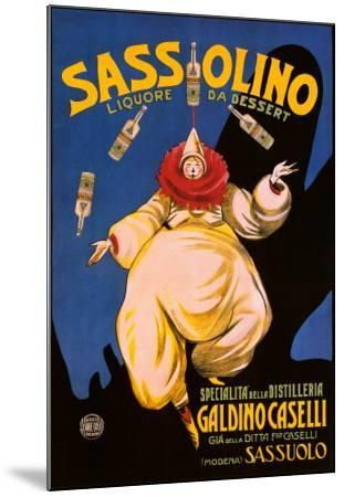 Sassolino--Mounted Art Print