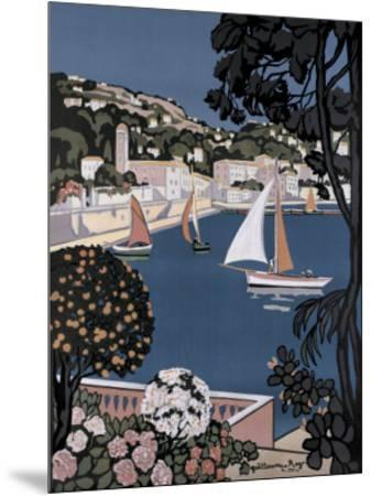 Cote d'Azur Bateaux-Guillaume Roger-Mounted Giclee Print