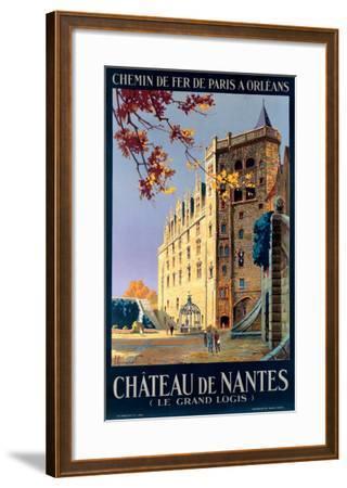 Chateau de Nantes-Pierre Commarmond-Framed Giclee Print