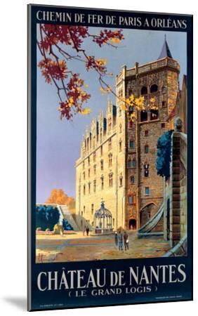 Chateau de Nantes-Pierre Commarmond-Mounted Giclee Print