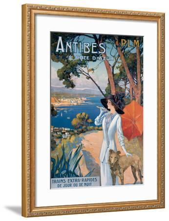 Antibes--Framed Giclee Print