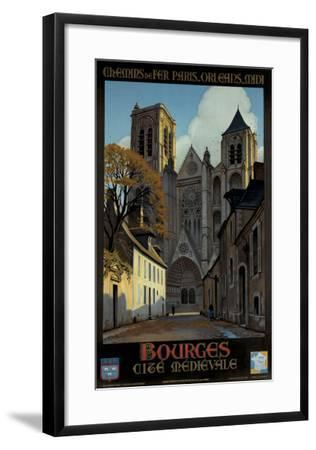 Bourges-Constant Leon Duval-Framed Giclee Print